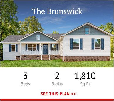 Brunswick custom home floorplan teaser