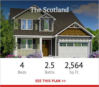 Scotland custom home plan overview