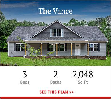 Vance custom home floorplan teaser