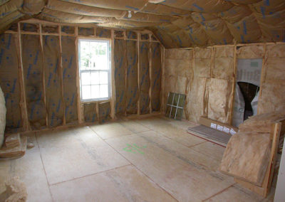 interior photo of custom home built on your lot
