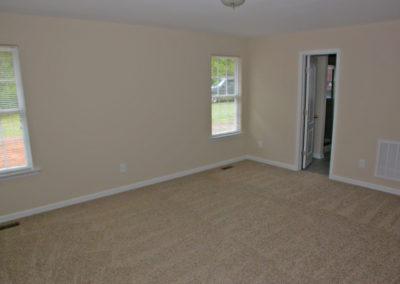 interior of a new custom home