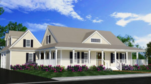 custom built home on your land exterior photo